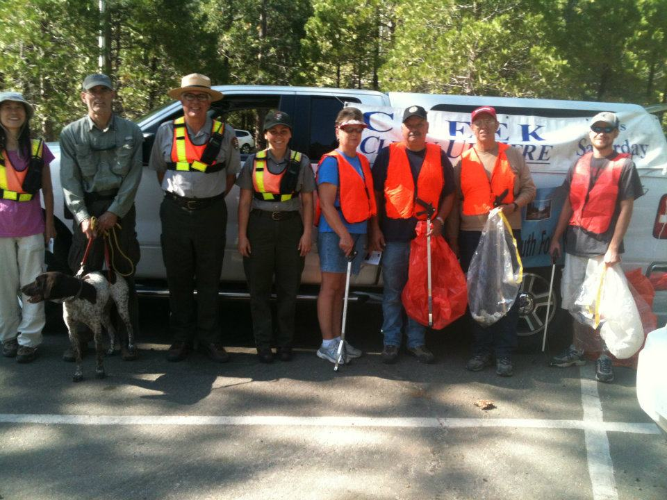 Successful river clean up crew!