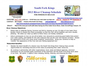 130528.Press Release FSFK River Cleanup