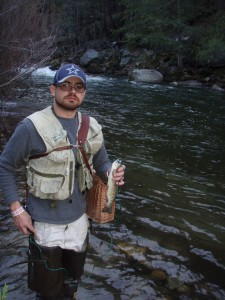 4.Chris.MonitoringWildRainbowTrout@GrizzlyPool.aka.TheLake